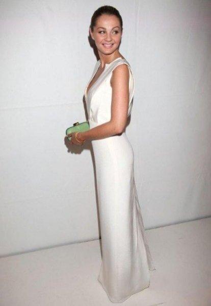 Małgorzata Socha w kreacji Bohoboco podczas gali Fashion Desinger Awards