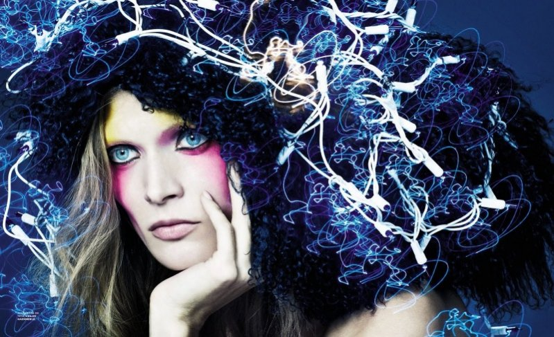 Małgosia Bela dla M Le Monde Magazine grudzień 2011