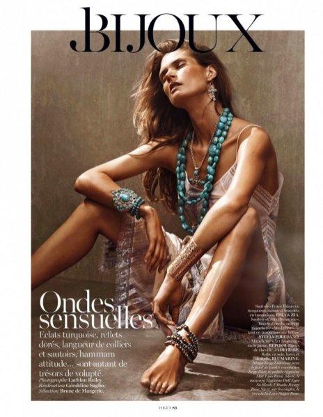 Małgosia Bela w biżuteryjnej sesji dla Vogue Paris czerwiec 2013