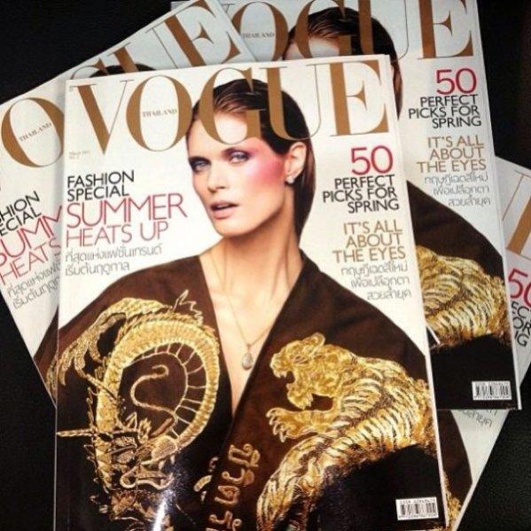 Vogue Thailand marzec 2013