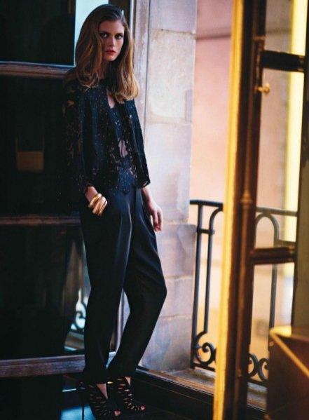 Małgosia Bela w Vogue Paris Marzec 2014
