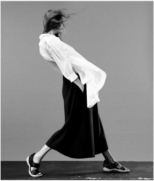 Małgosia Bela w sesji dla WSJ Magazine czerwiec 2013
