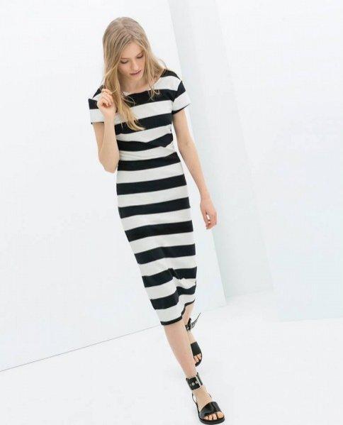 1. Malwina Garstka w wiosennym lookbooku Zara TRF