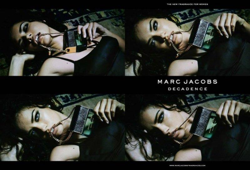 1. Kampania perfum Marc Jacobs Decadence