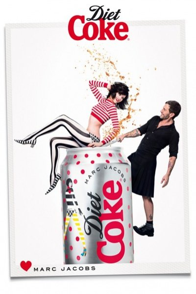 Marc Jacobs w kampanii Diet Coke