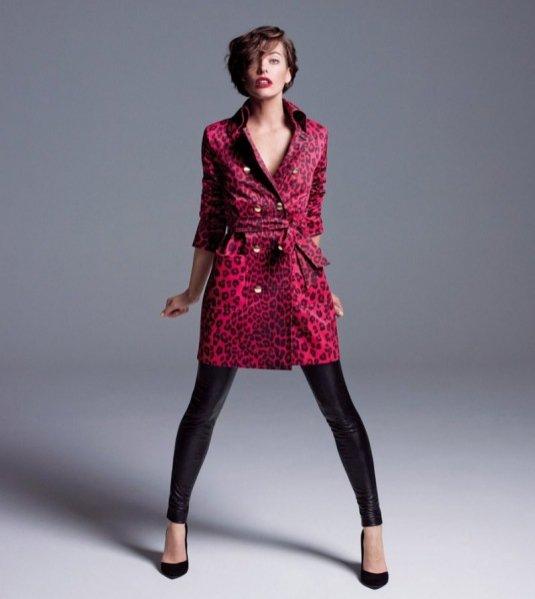 Milla Jovovich w obiektywie Inez&Vinoodh - kampania Marella jesień zima 2012/13