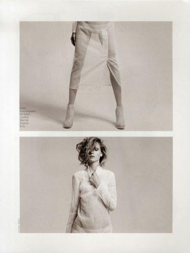 Maria Loks dla French Magazine