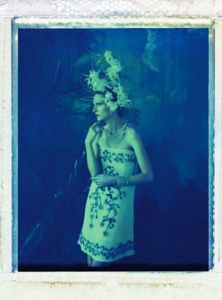 Maria Loks w majowym Harper's Bazaar