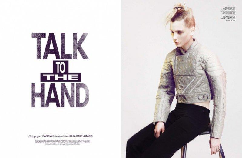 Maria Foks Wonderland Magazine kwiecień/maj 2013