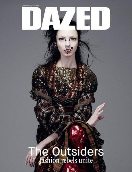 1. Mariacarla Boscono w okładkowej sesji Dazed & Confused - lato 2014