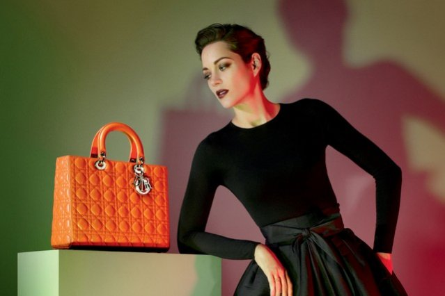Marion Cotillard w kampanii Lady Dior wiosna lato 2013