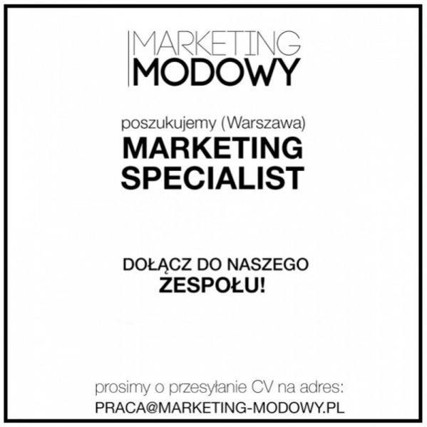 Oferta pracy w agencji Marketing Modowy