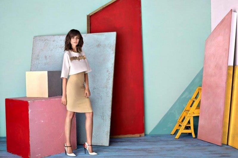 1. Marta Dyks w lookbooku marki La Mania wiosna lato 2015
