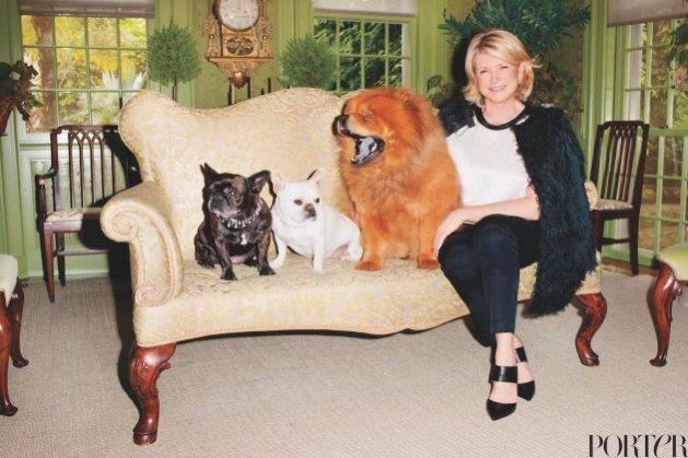 1.Martha Stewart w sesji dla magazynu Porter