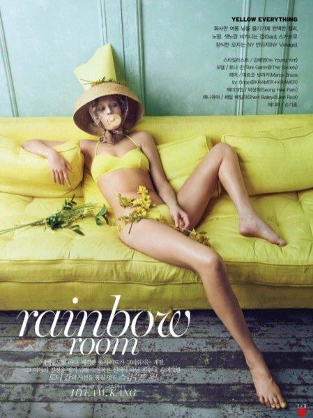 1. Edytorialu Vogue Korea