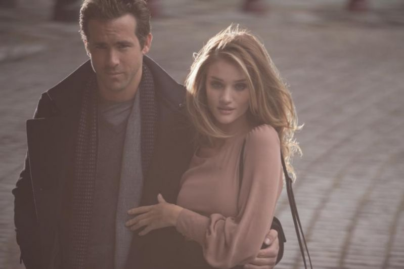 Rosie Huntington-Whiteley i Ryan Reynolds w kampanii marki Marsk&Spencer