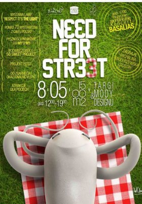 NEED FOR  STREET 3 – TARGI MODY I DESIGNU