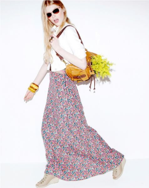 Bershka - damska kolekcja wiosna-lato 2011