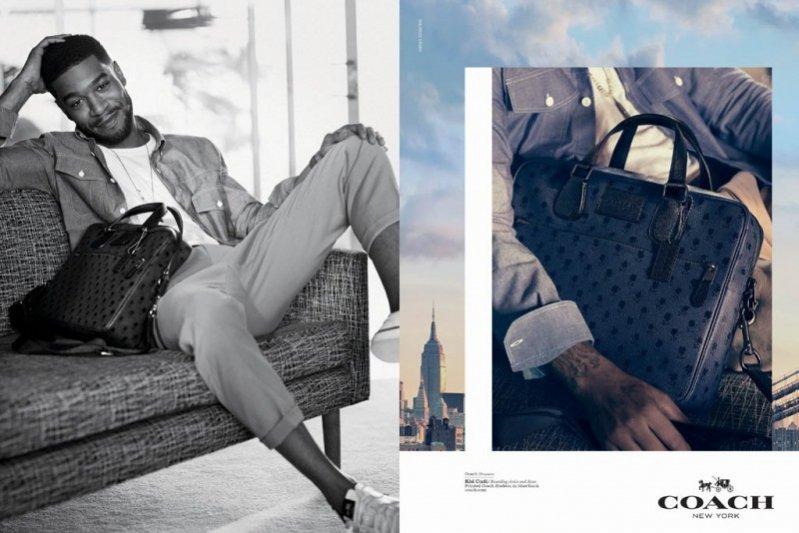 1. Chloë Moretz i Kid Cudi w kampanii Coach wiosna lato 2015