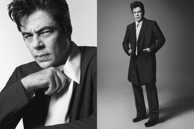 Benicio Del Toro w kampanii Prada wiosna lato 2013