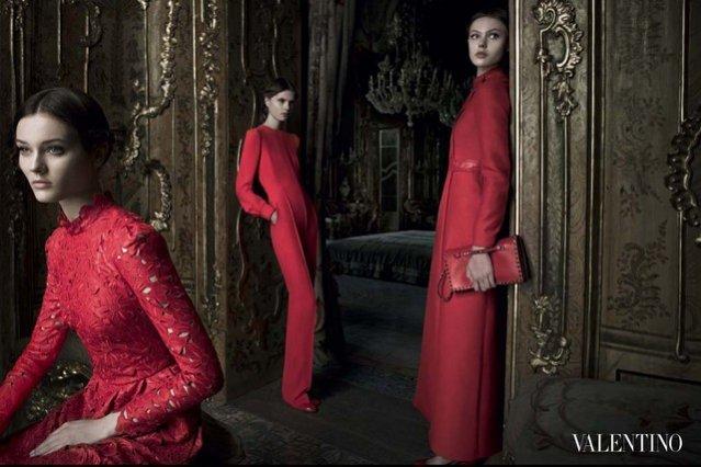 kampania Valentino jesień zima 2012/13