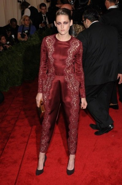 Kristen Stewart w Stella McCartney podczas Met Ball 2013