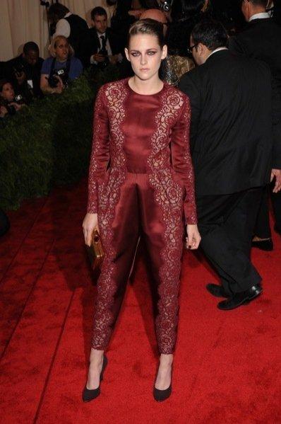 Kristen Stewart w Stella McCartney podczas Met Ball 2013