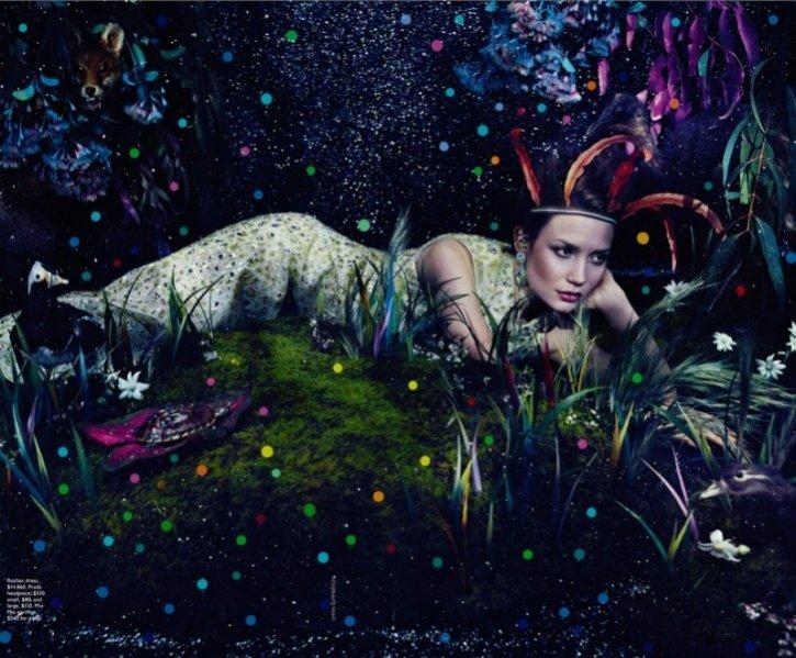 Mia Wasikowska w Vogue Australia 2014