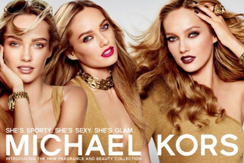 Karmen Pedaru w kampanii kosmetyków Michael Kors