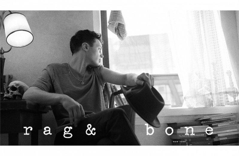 1. Michael Pitt w kampanii Rag&Bone wiosna lato 2015
