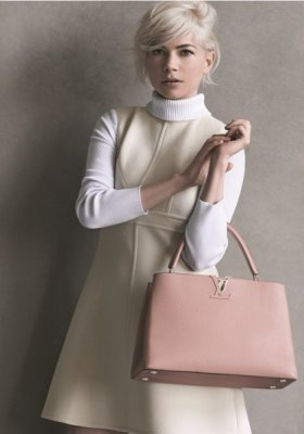 MICHELLE WILLIAMS PO RAZ TRZECI W KAMPANII LOUIS VUITTON