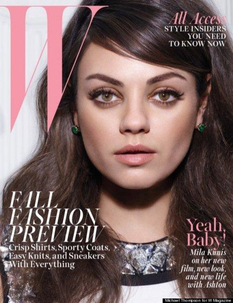 1. Mila Kunis w sesji dla sierpniowego W Magazine