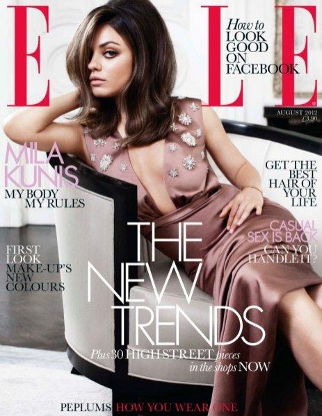 Mila Kunis w sesji Elle UK
