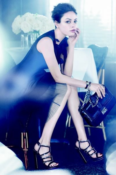 Mila Kunis w kampanii Christian Dior wiosna lato 2012