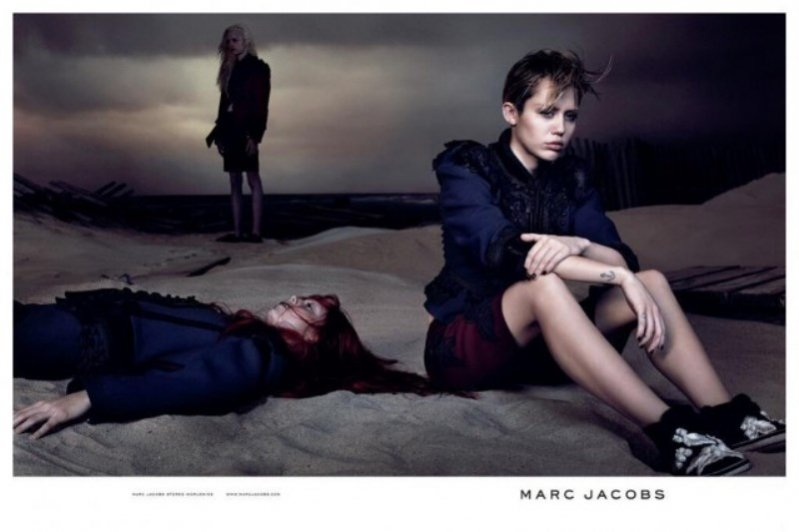 1. Miley Cyrus w kampanii Marc Jacobs wiosna lato 2014