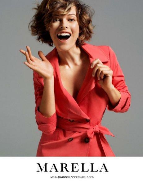 Milla Jovovich w kampanii Marella na sezon wiosna lato 2012