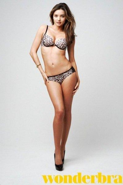 1. Miranda Kerr dla Wonderbra