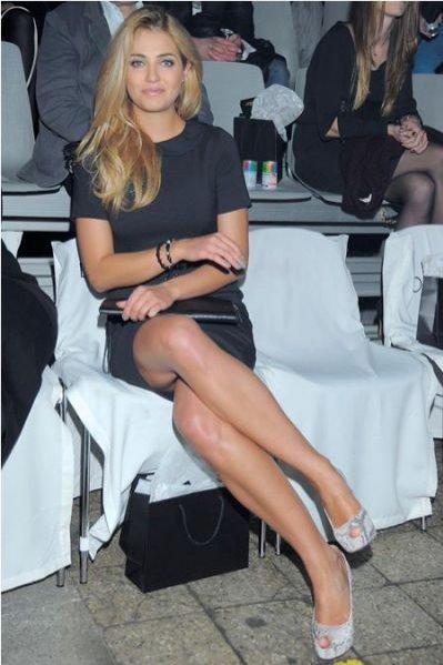 Rozalia Mancewicz w butach Loft 37