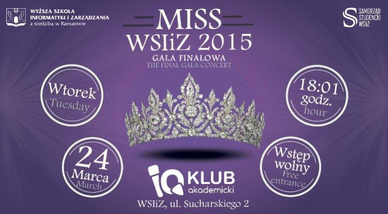 1. Wybory Miss WSIiZ - naszego partnera biznesowego