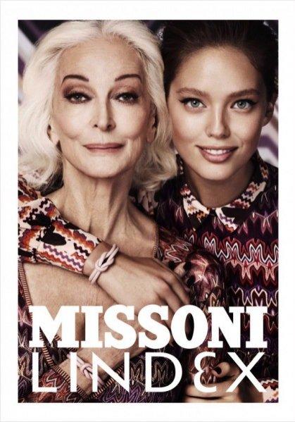 Kampania Missoni for Lindex jesień zima 2012/13