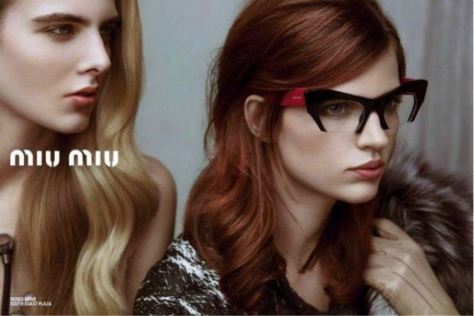 Kampania Miu Miu Eyewear wiosna lato 2013