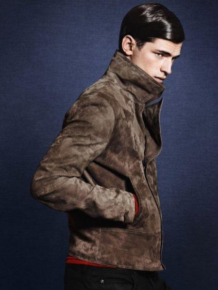 Zara lookbook kolekcji męskiej jesień zima 2011