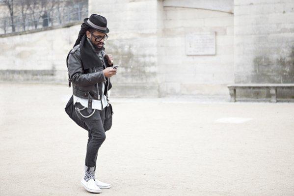 Moda uliczna Paris Fashion Week jesień zima 2013