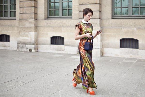 1. moda uliczna Paris Fashion Week wiosna lato 2014 cz.3