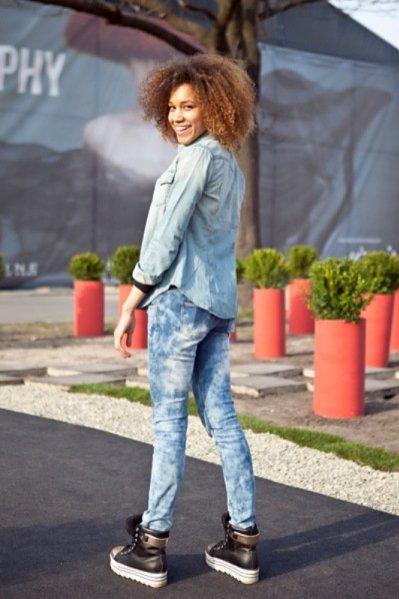 moda uliczna Fashion Week Poland kwiecień 2013