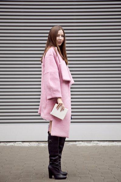 moda uliczna Poland Fashion Week październik 2013 - Olivia Kijo z bloga variacje.