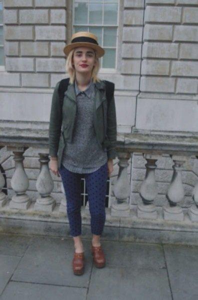 moda uliczna London Fashion Week