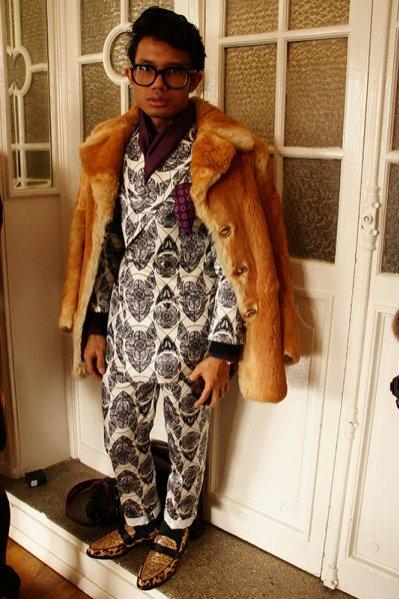 1. Moda uliczna Paris Fashion Week jesień zima 2014 część 3.