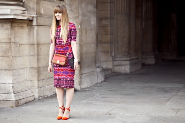 1. moda uliczna Paris Fashion Week wiosna lato 2014