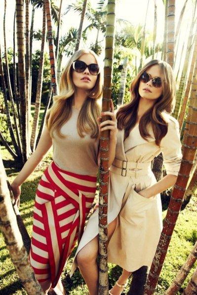 Kolekcja na sezon wiosna lato 2012 marki Monnari